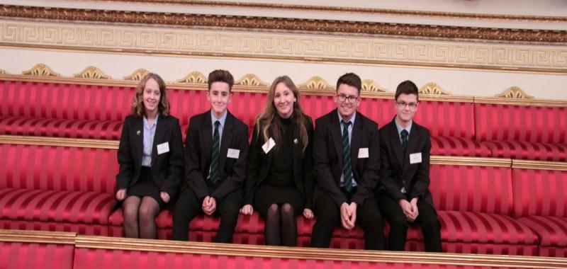 Mendip Studio School trip to Buckingham Palace