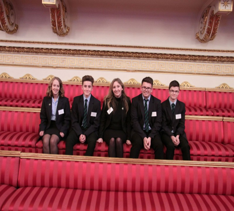 Mendip Studio School trip to Buckingham Palace
