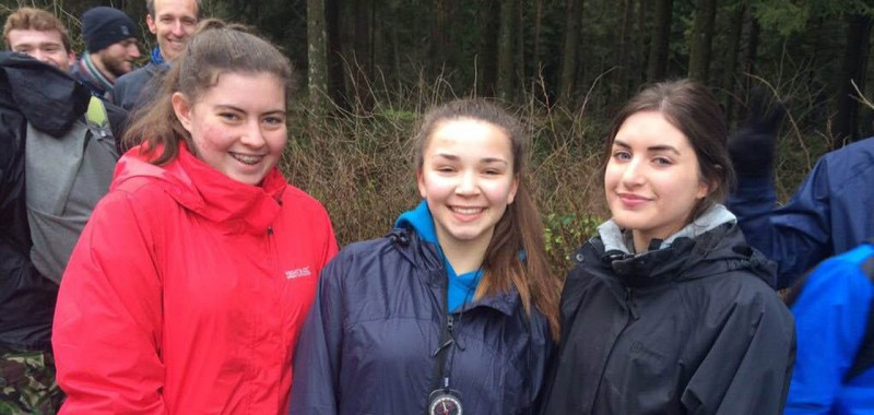 Orienteering their way to the top