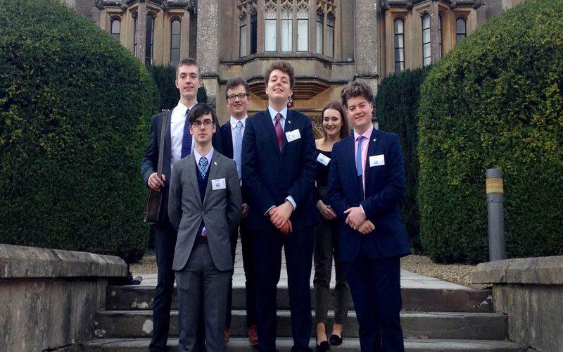 Students attend International European Debate