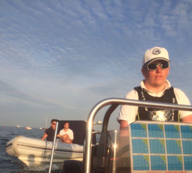 Summer on the sea