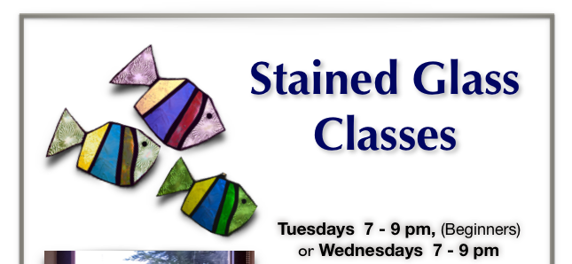Stained Glass Workshops Available at Writhlington!