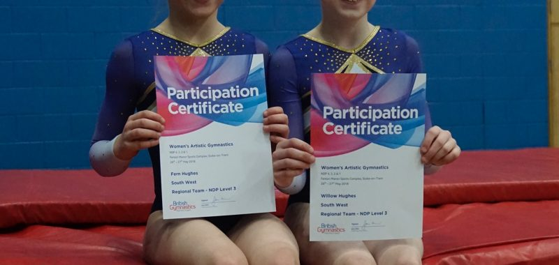 National Success for Gymnasts