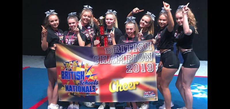 Writhlington School - Cheer Grand Champions!