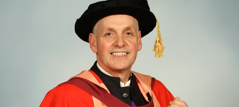 Honorary degree awarded to teacher