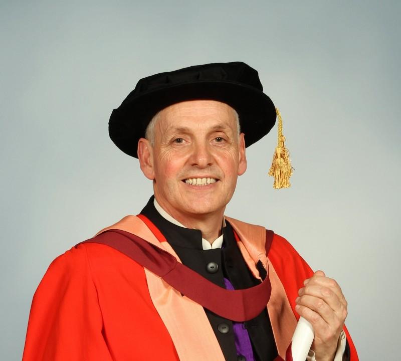 Honorary degree awarded to teacher
