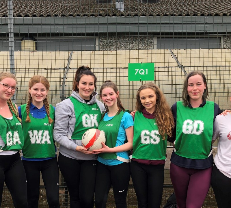 Netball - Sixth Form Crowned B&NES Champions