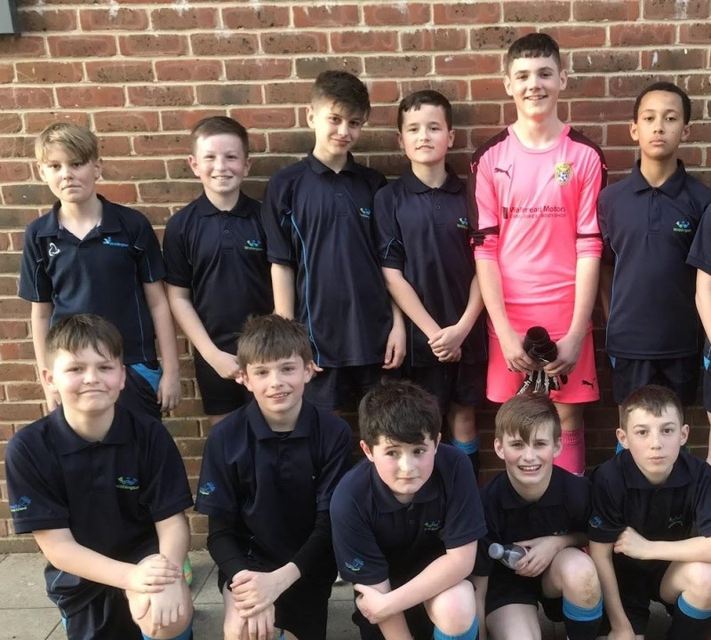 Boys-U12A Football v Somervale (2-1) Wednesday 27th March 2019