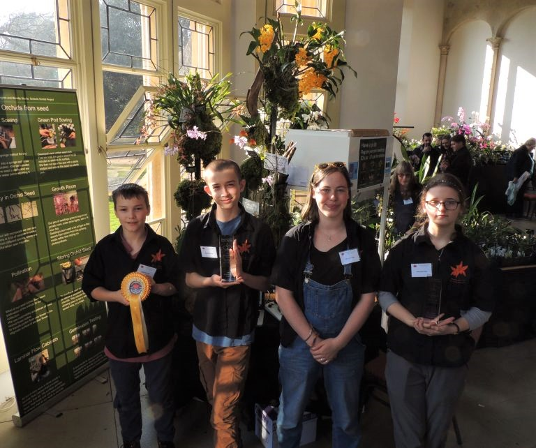 Success at Bournemouth Orchid Show