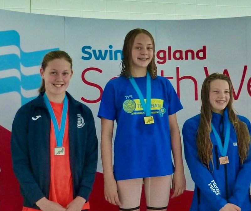 Success at South West Regional Swimming Championships