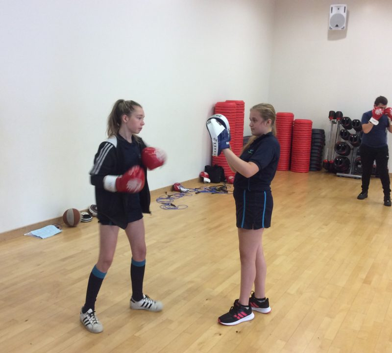 Boxing Fitness comes to Writhlington