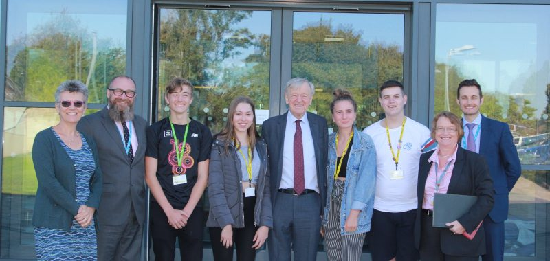 Visit by Lord Dubs 13 September 2019
