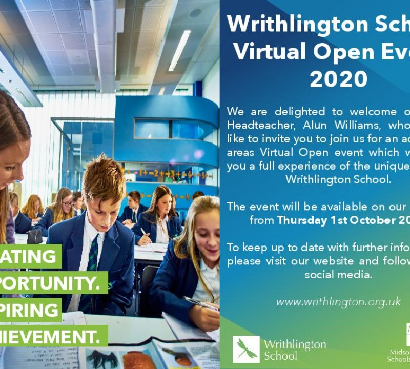 Open Evening 1 October 2020