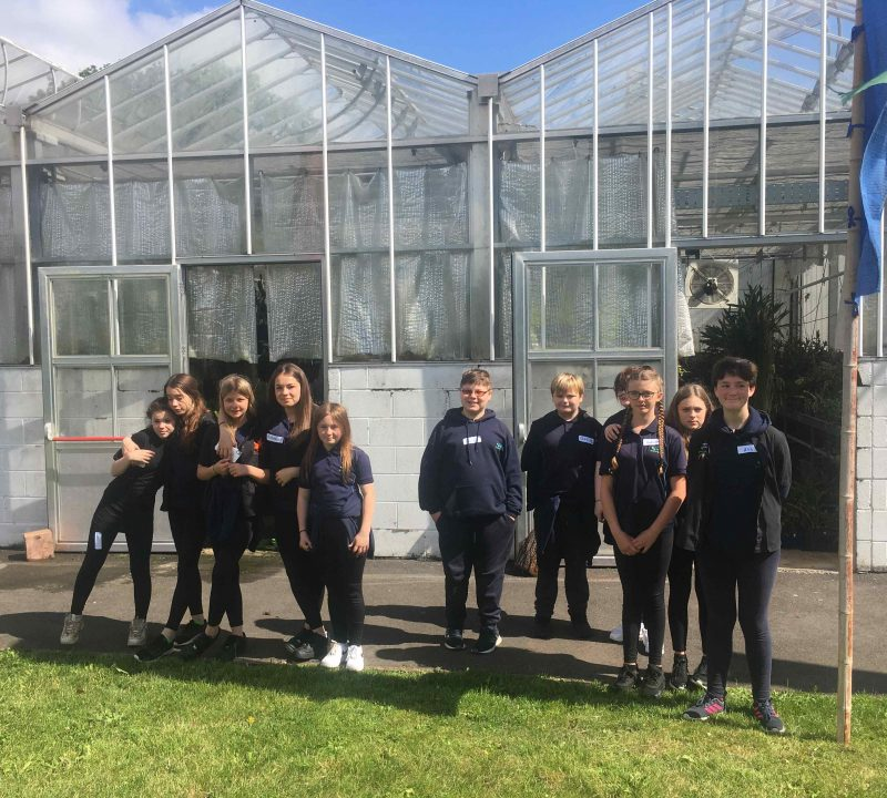 Students Present to Britain in Bloom Judges