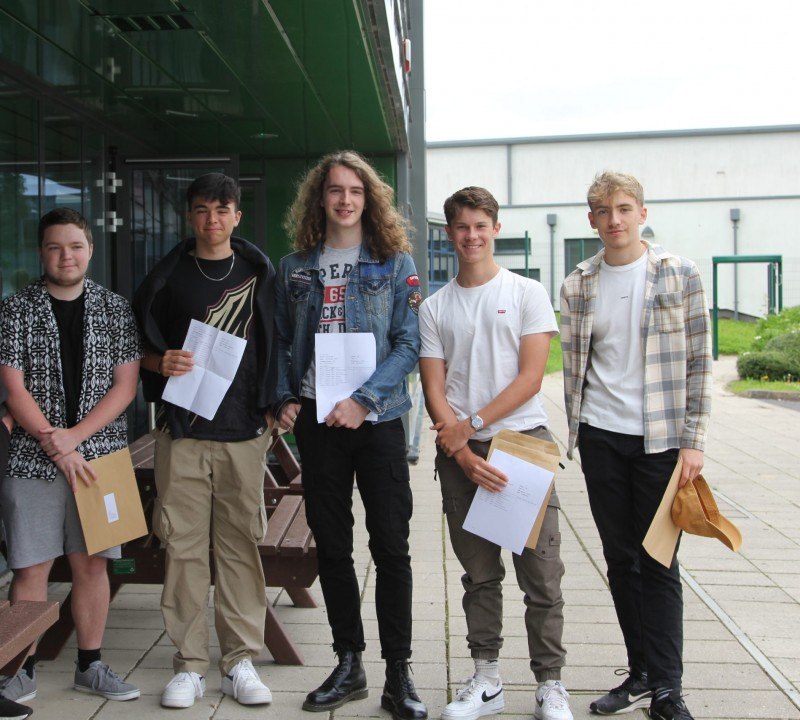 Writhlington Students Celebrate Outstanding Results