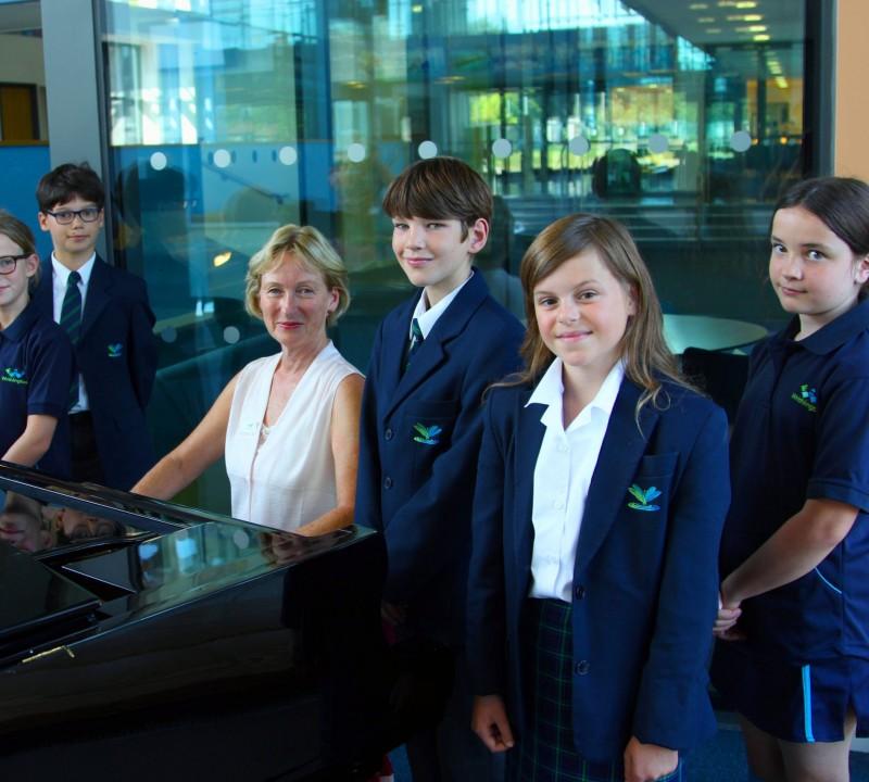 Our Shigeru Kawai Grand Piano